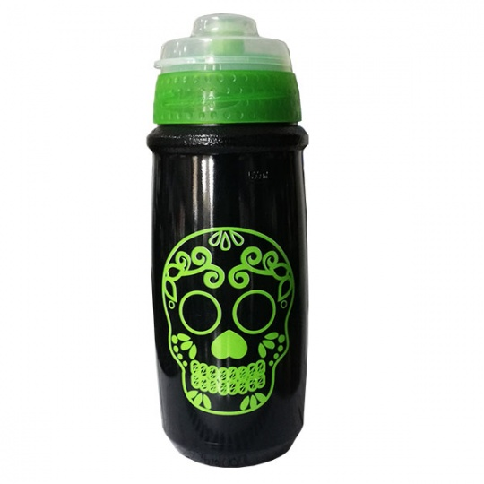 Borraccia Skull Verde 550 Ml