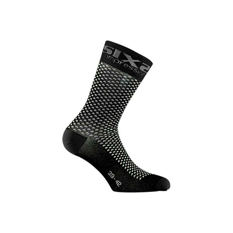 b35d93405a Calzini Corti Compressione Sixs Nero Carbon - Bike90.it