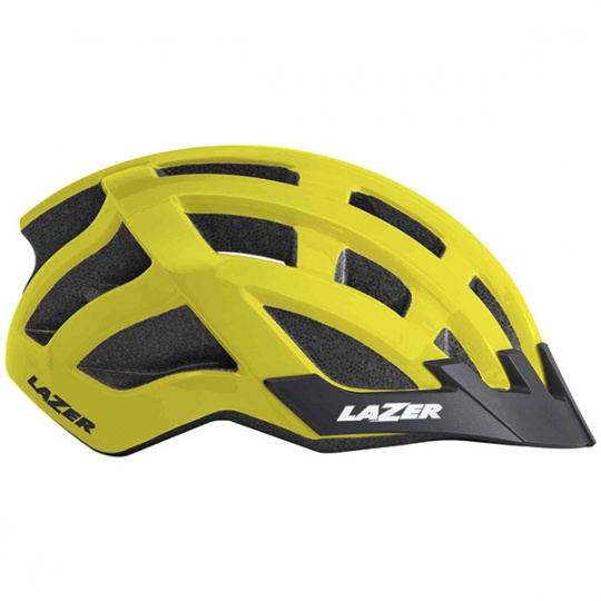 Casco ciclismo Lazer Compact Flash Giallo Fluo